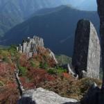 大砲岩の秋